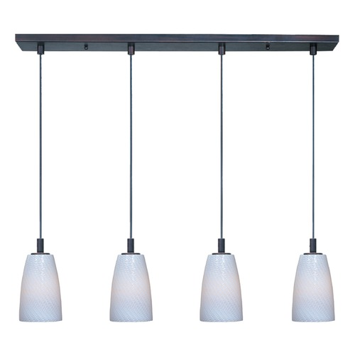 ET2 Lighting Carte Satin Nickel Multi-Light Pendant E92044-13SN