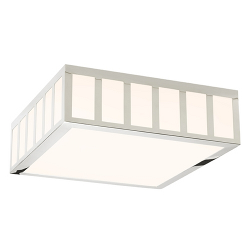 Sonneman Lighting Sonneman Lighting Capital Satin Nickel LED Flushmount Light 2529.13
