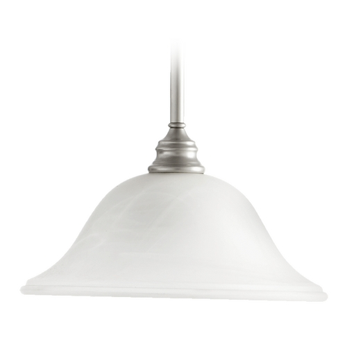 Quorum Lighting Quorum Lighting Bryant Classic Nickel Pendant Light 654-64