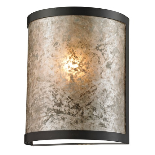 Elk Lighting Elk Lighting Mica Oil Rubbed Bronze Sconce 66950/1