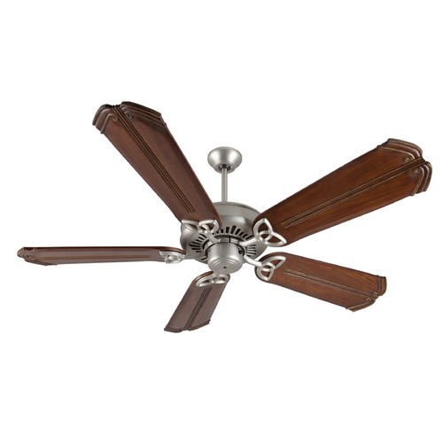 Craftmade Lighting Craftmade Lighting American Tradition Brushed Satin Nickel Ceiling Fan Without Light K10830