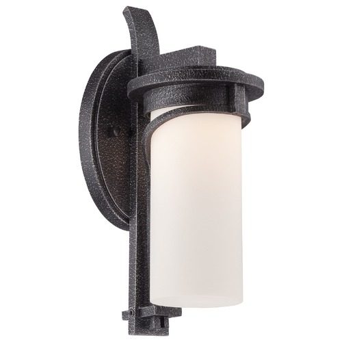 Minka Lavery Minka Lighting Holbrook Forged Stone Silver LED Outdoor Wall Light 8151-568-L