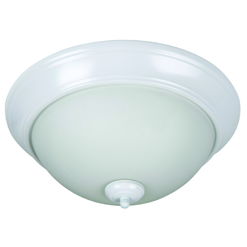 Craftmade Lighting Craftmade Pro Builder Flush White Flushmount Light XP15W-3W