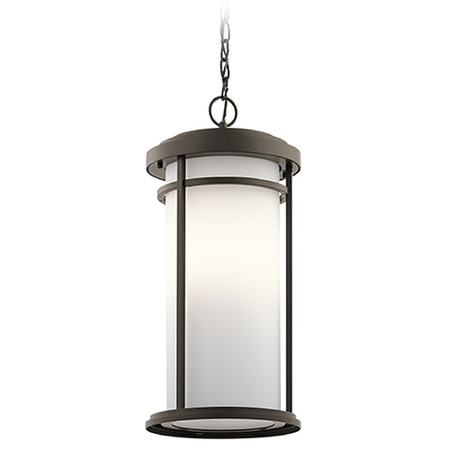 Kichler Lighting Kichler Lighting Toman Olde Bronze Outdoor Hanging Light 49689OZ