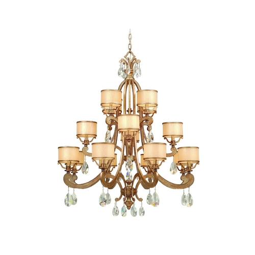 Corbett Lighting Corbett Lighting Roma Antique Roman Silver Chandelier 71-016
