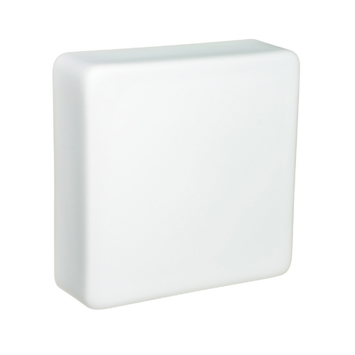 Besa Lighting Sconce Wall Light White Glass by Besa Lighting 888407