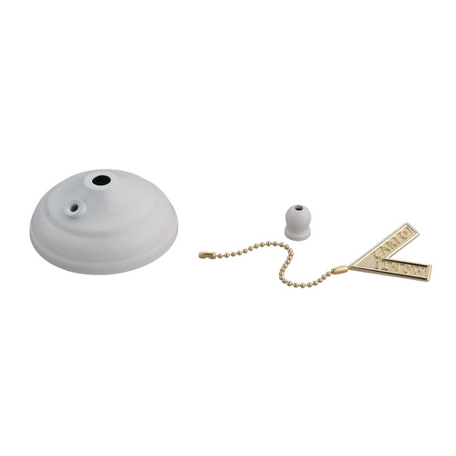 Monte Carlo Fans Ceiling Adaptor in White Finish MC83WH