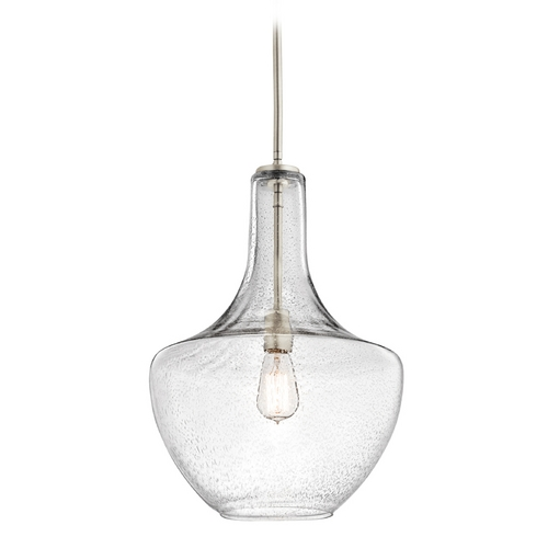 Kichler Lighting Kichler Lighting Everly Brushed Nickel Pendant Light 42046NICS