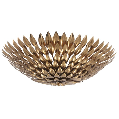 Crystorama Lighting Crystorama Lighting Broche Antique Gold Flushmount Light 507-GA_CEILING