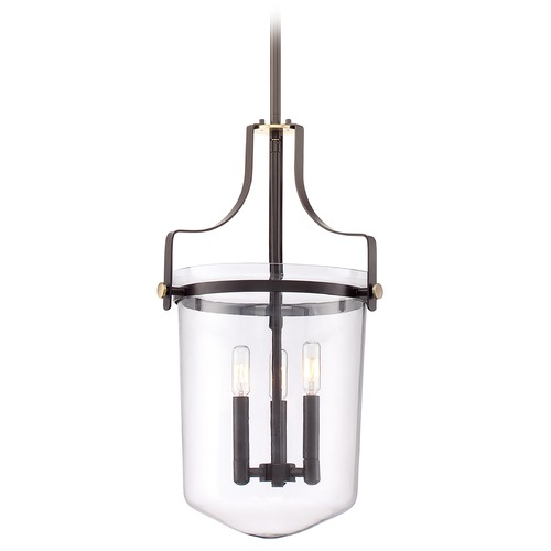 Quoizel Lighting Quoizel Uptown Penn Station Western Bronze Pendant Light UPPS2813WT