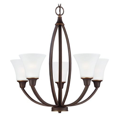 Sea Gull Lighting Sea Gull Lighting Metcalf Autumn Bronze Chandelier 3113205-715