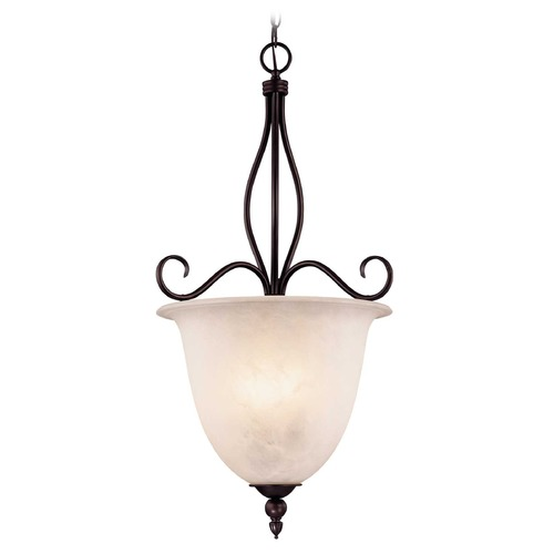 Savoy House Savoy House English Bronze Pendant Light with Bell Shade KP-98-2-13