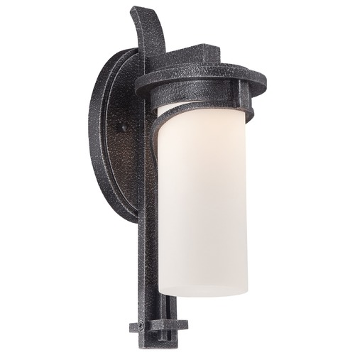 Minka Lavery Minka Lighting Holbrook Forged Stone Silver LED Outdoor Wall Light 8152-568-L