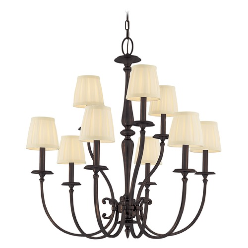Hudson Valley Lighting Hudson Valley Lighting Jefferson Old Bronze Chandelier 5219-OB