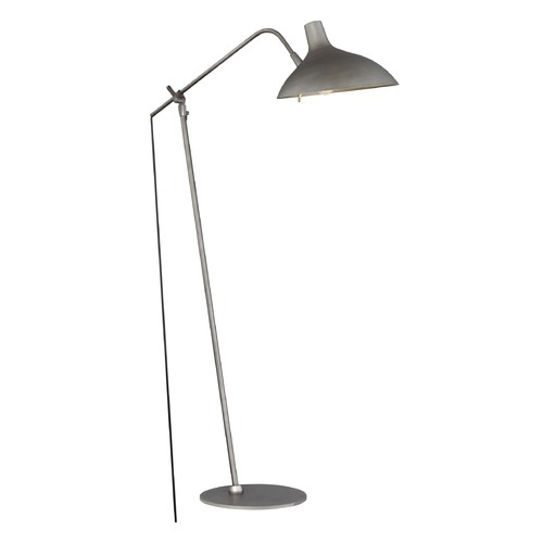 Quoizel Lighting Quoizel Lighting Quoizel Portable Lamp Gray Floor Lamp with Bowl / Dome Shade Q2310F