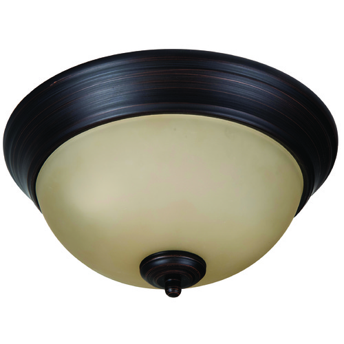 Jeremiah Lighting Jeremiah Pro Builder Flush Aged Bronze Brushed Flushmount Light XP11ABZ-2A
