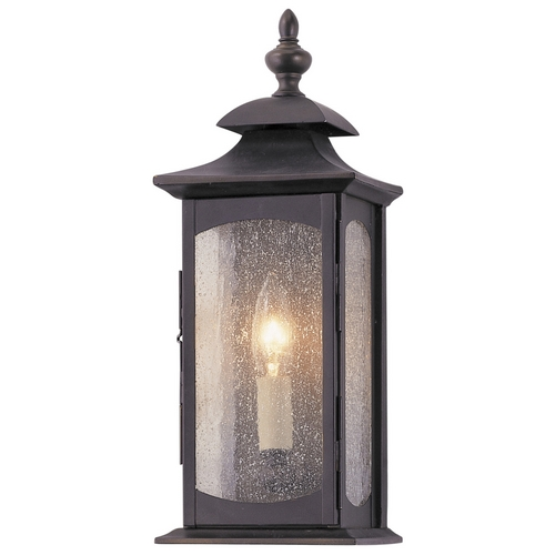 Feiss Lighting Outdoor Wall Light with Clear Glass in Oil Rubbed Bronze Finish OL2600ORB