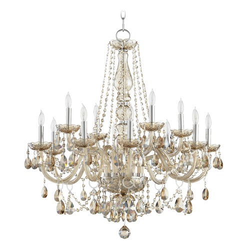 Quorum Lighting Quorum Lighting Bohemian Katerina Chrome Chandelier 631-12-614