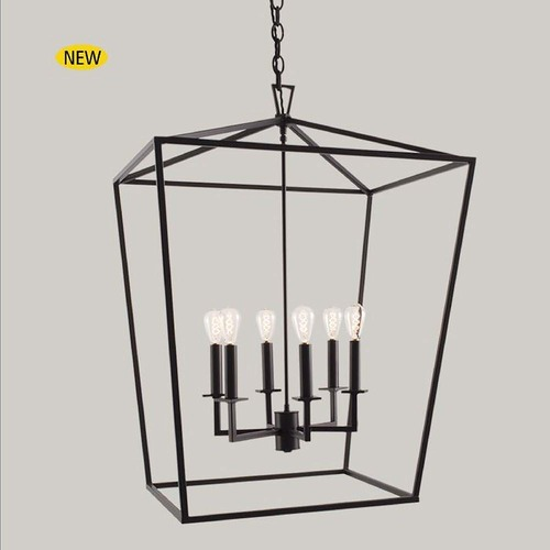 Norwell Lighting Norwell Lighting Cage Bronze Pendant Light 1082-BR-NG