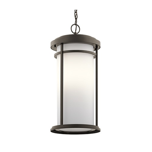 Kichler Lighting Kichler Lighting Toman Olde Bronze LED Outdoor Hanging Light 49689OZL16