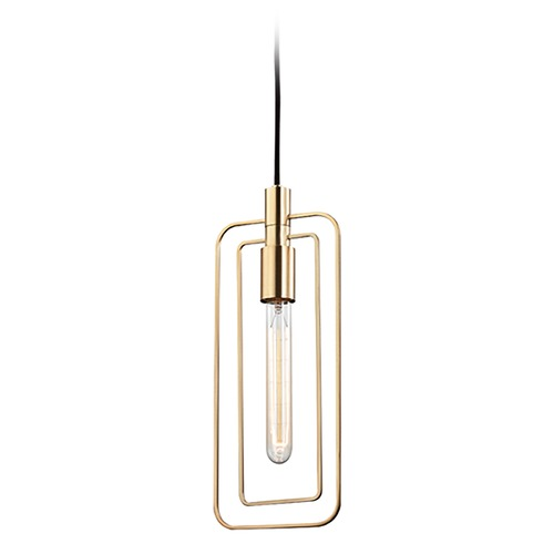 Hudson Valley Lighting Hudson Valley Lighting Masonville Aged Brass Pendant Light 3030-AGB