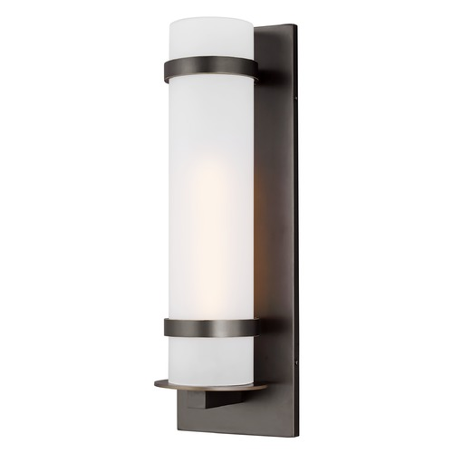 Sea Gull Lighting Sea Gull Lighting Alban Antique Bronze LED Outdoor Wall Light 8718301EN3-71