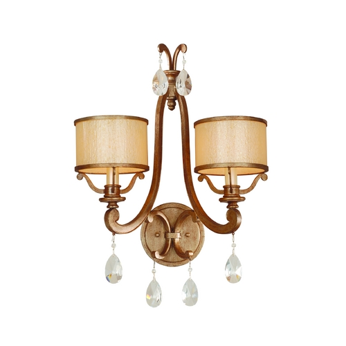 Corbett Lighting Corbett Lighting Roma Antique Roman Silver Sconce 71-12