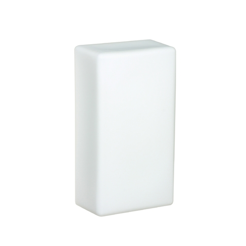 Besa Lighting Sconce Wall Light with White Glass 888607
