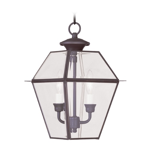 Livex Lighting Livex Lighting Westover Bronze Outdoor Hanging Light 2285-07