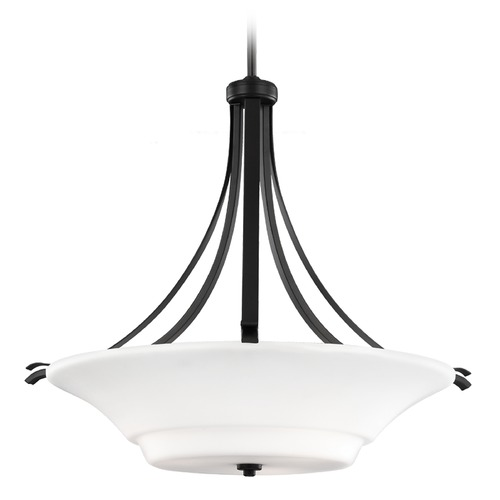 Feiss Lighting Feiss Lighting Summerdale Oil Rubbed Bronze Pendant Light F2983/3ORB