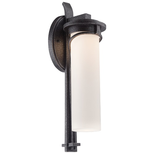 Minka Lavery Minka Lighting Holbrook Forged Stone Silver LED Outdoor Wall Light 8153-568-L