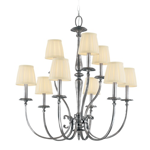 Hudson Valley Lighting Hudson Valley Lighting Jefferson Polished Nickel Chandelier 5219-PN