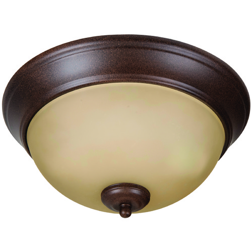 Jeremiah Lighting Jeremiah Pro Builder Flush Aged Bronze Flushmount Light XP11AG-2A