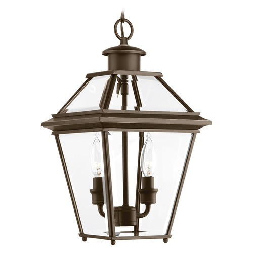 Progress Lighting Progress Lighting Burlington Antique Bronze Outdoor Hanging Light P6537-20