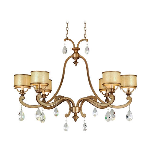 Corbett Lighting Corbett Lighting Roma Antique Roman Silver Chandelier 71-56