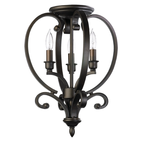 Quorum Lighting Quorum Lighting Bryant Oiled Bronze Pendant Light 6754-3-86