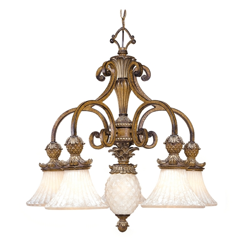 Livex Lighting Livex Lighting Savannah Venetian Patina Chandelier 8475-57