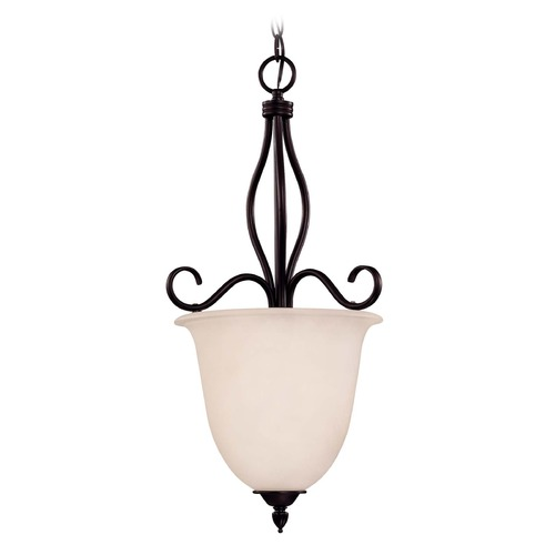 Savoy House Savoy House English Bronze Pendant Light with Bell Shade KP-98-4-13
