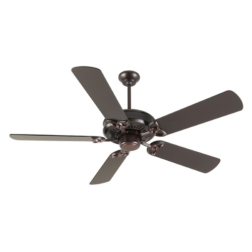 Craftmade Lighting Craftmade Lighting American Tradition Oiled Bronze Ceiling Fan Without Light K10833