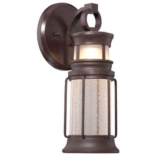 Minka Lavery Minka Lighting Garreston Pointe Architectual Bronze with Copper LED Outdoor Wall Light 72441-291-L