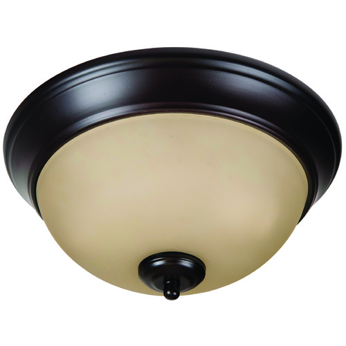 Jeremiah Lighting Jeremiah Pro Builder Flush Oiled Bronze Flushmount Light XP11OB-2A