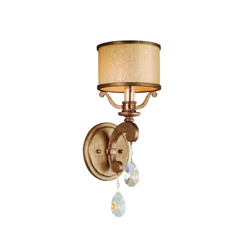 Corbett Lighting Corbett Lighting Roma Antique Roman Silver Sconce 71-61