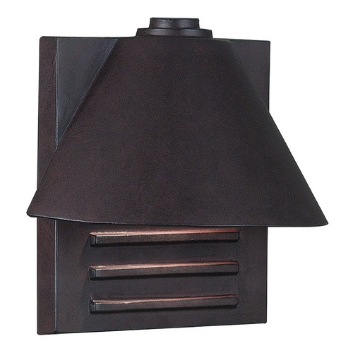Kenroy Home Lighting Modern Outdoor Wall Light in Copper Finish 10160COP