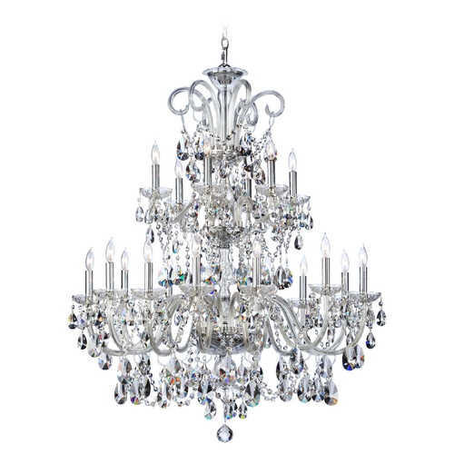 Quorum Lighting Quorum Lighting Bohemian Katerina Chrome Crystal Chandelier 630-18-514
