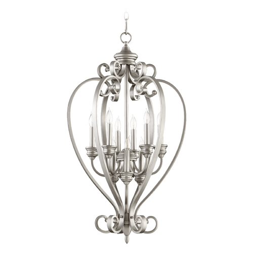 Quorum Lighting Quorum Lighting Bryant Classic Nickel Pendant Light 6854-9-64