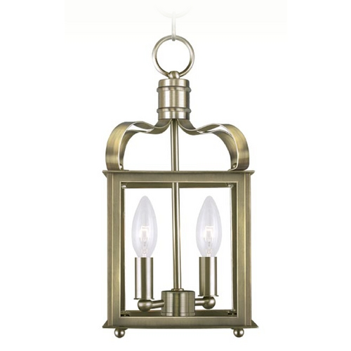 Livex Lighting Livex Lighting Garfield Antique Brass Mini-Pendant Light 4312-01