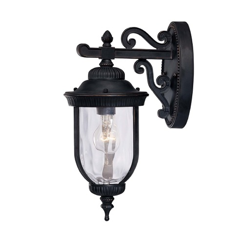 Savoy House Savoy House Black W/ Gold Outdoor Wall Light 5-60320-186