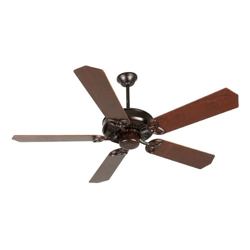 Craftmade Lighting Craftmade Lighting American Tradition Oiled Bronze Ceiling Fan Without Light K10834