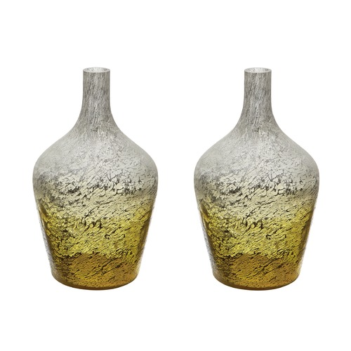 Dimond Lighting Lemon Ombre Bottle - Set Of 2 876031/S2