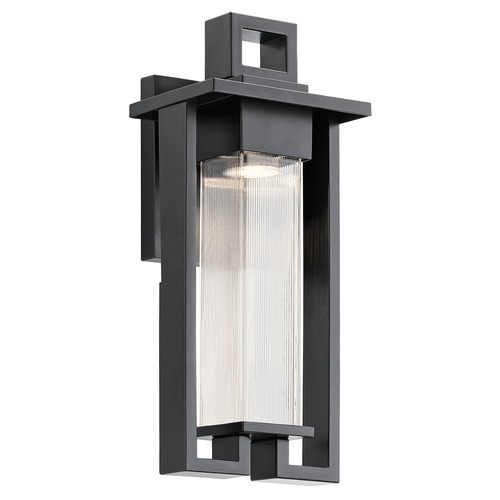 Kichler Lighting Kichler Lighting Chlebo Black Outdoor Wall Light 49706BK